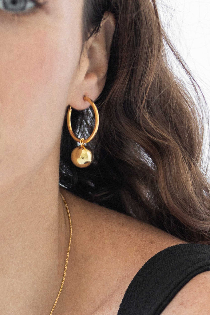 Disco Hoops - 14K Gold Vermeil