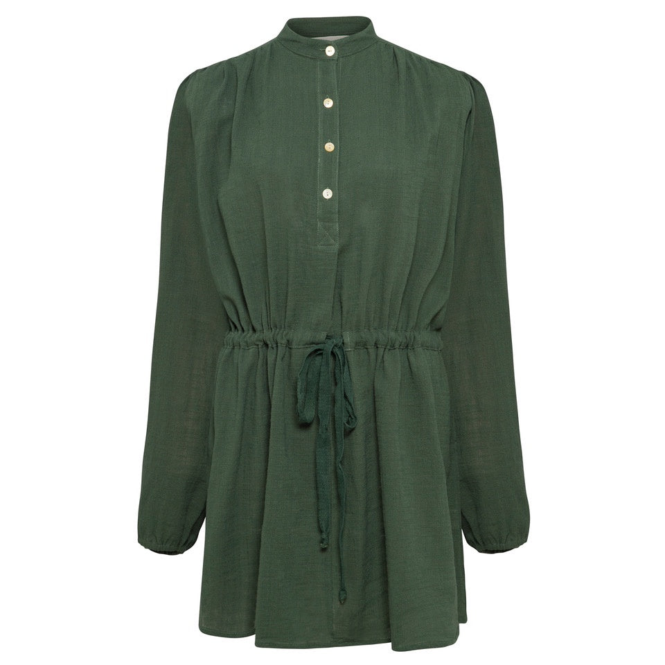 Julia Dress - Forest Green (Exclusive to Kind Curations)