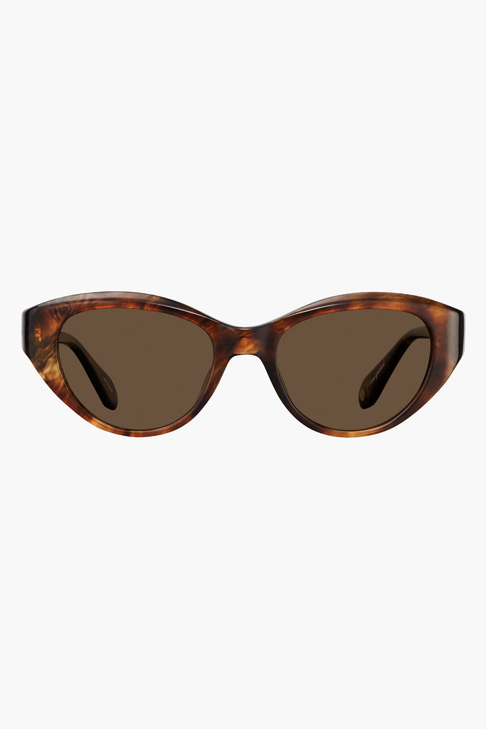 Del Rey Sunglasses- Feather tortoise/ semi- flat sienna