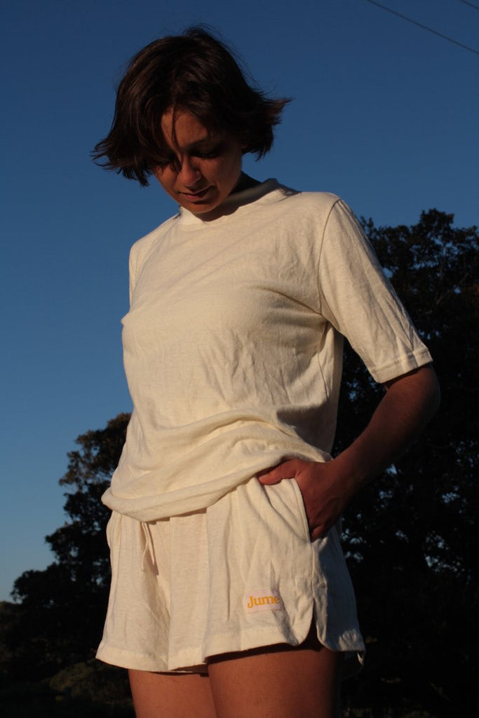 The Comfy Shorts - Hemp Jersey