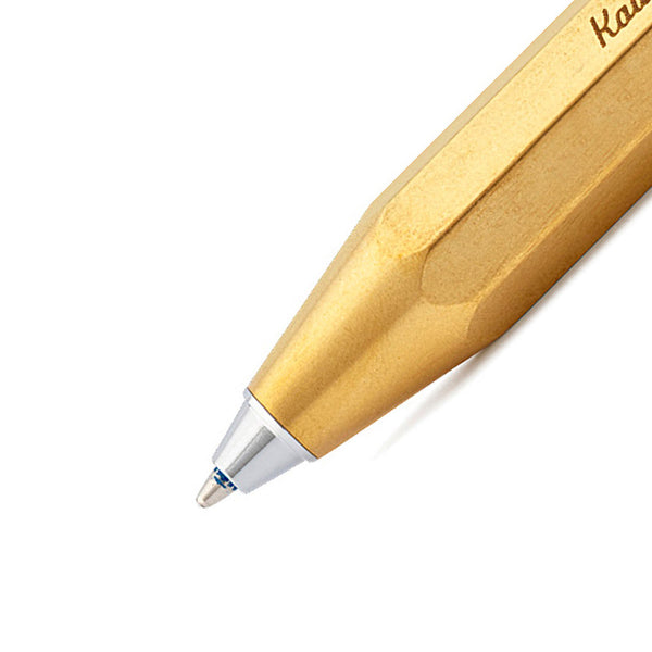 Brass Sport  Ballpoint Pen - Gold