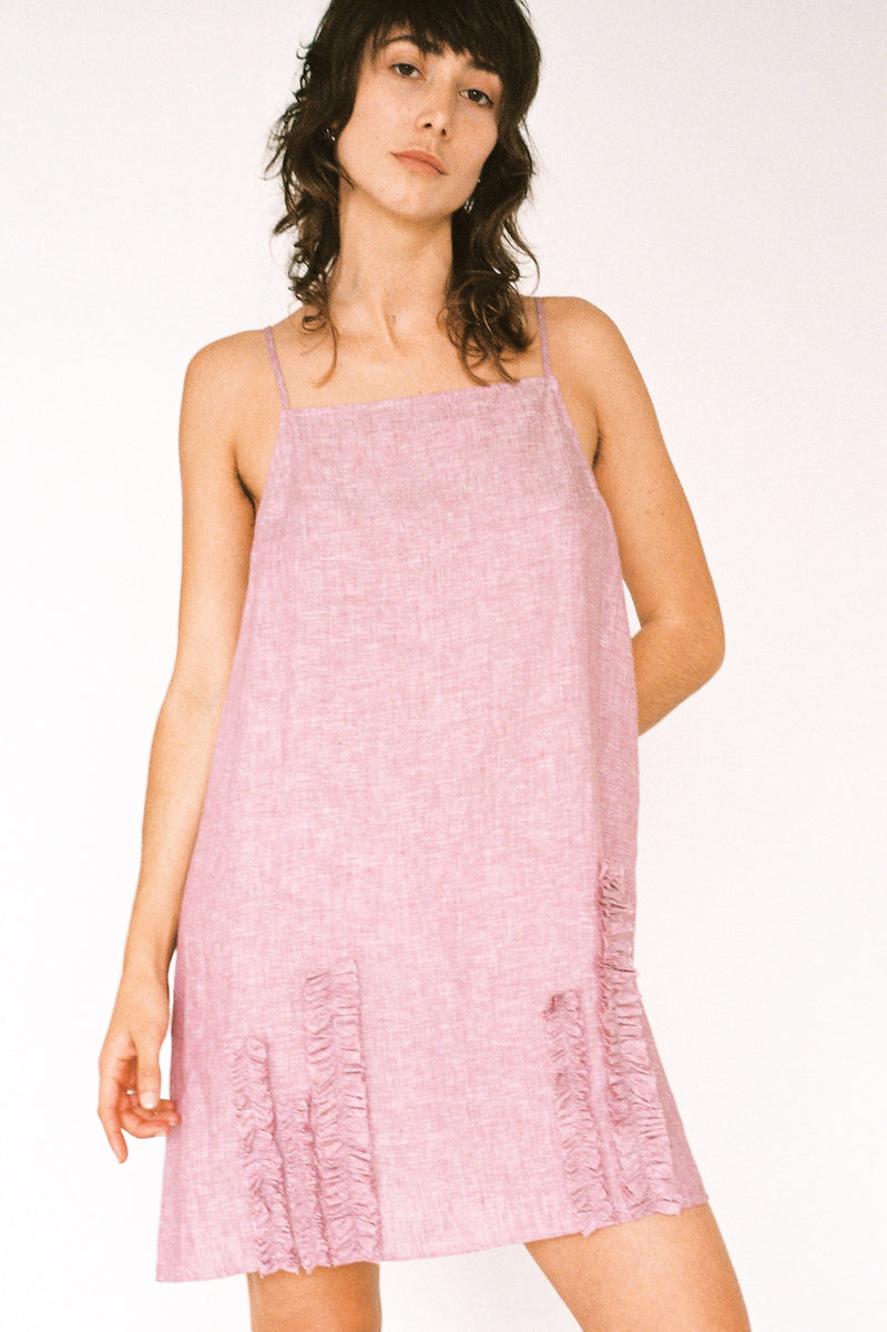 Jessie Slip Dress - Auburn Linen