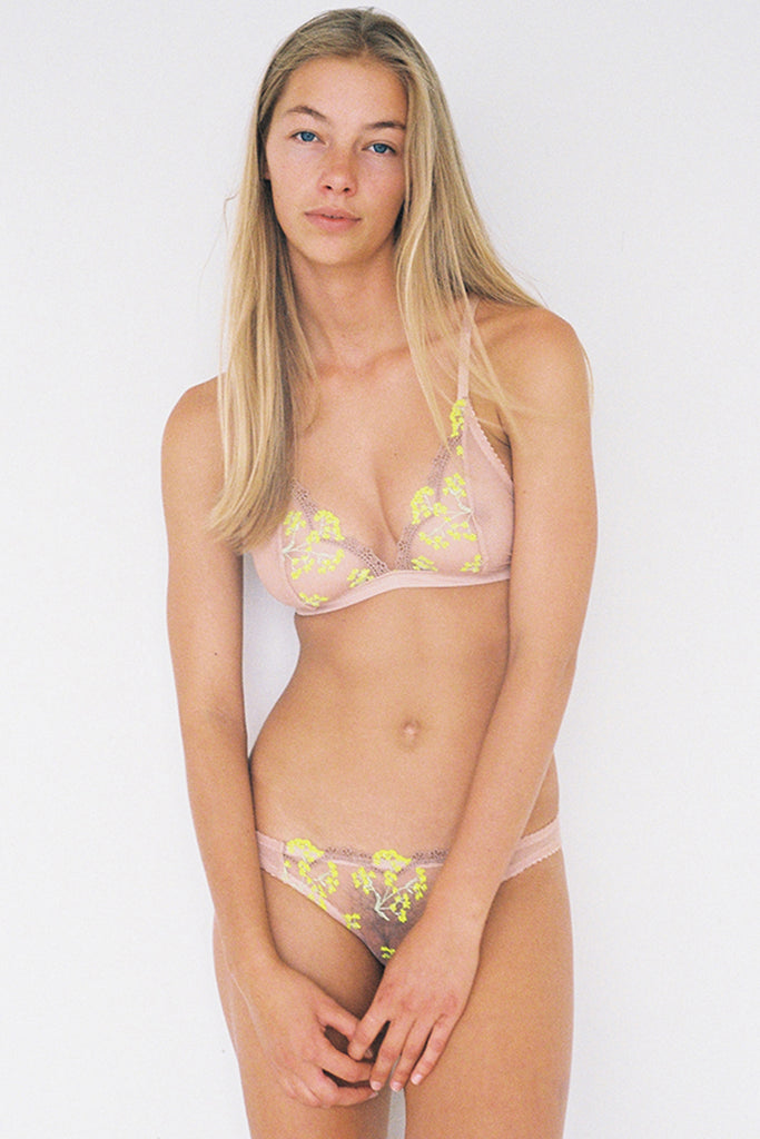 Scout Softcup Bra - Yellow Daisy