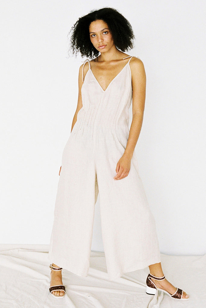 Sissy Jumpsuit - Fawn