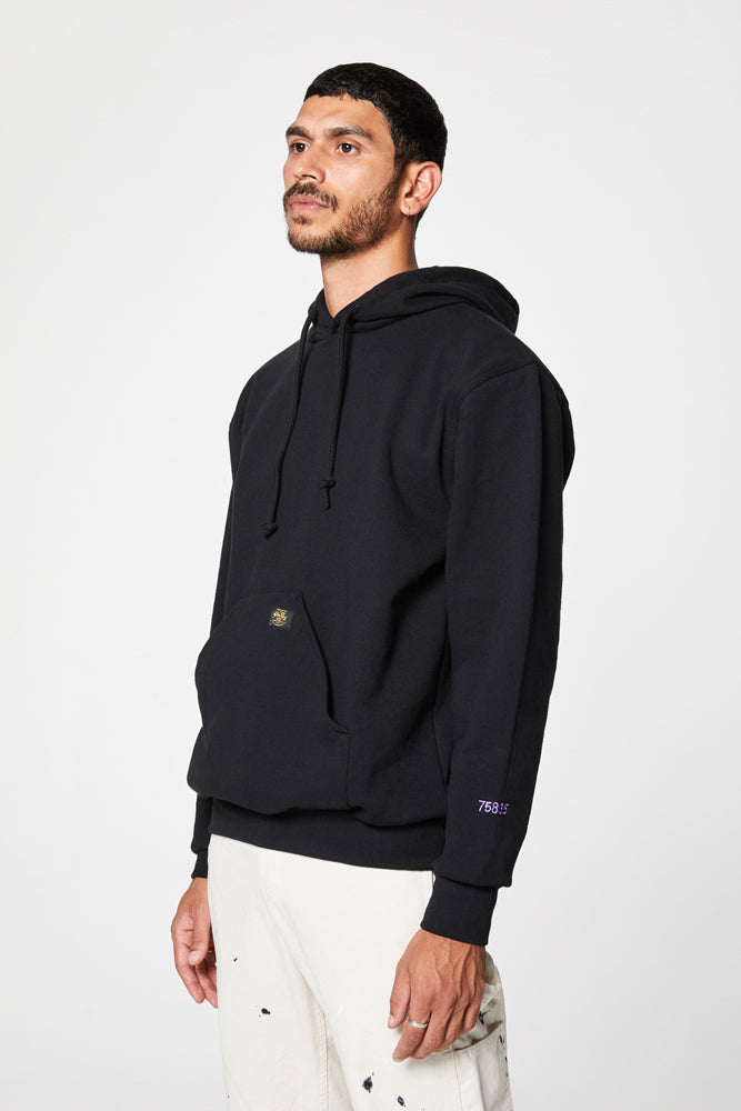 Crockett Hooded Fleece - Black