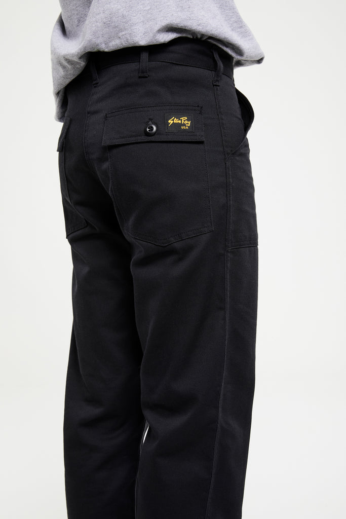 OG Fit Fatigue Loose Fit Pant - Black Twill