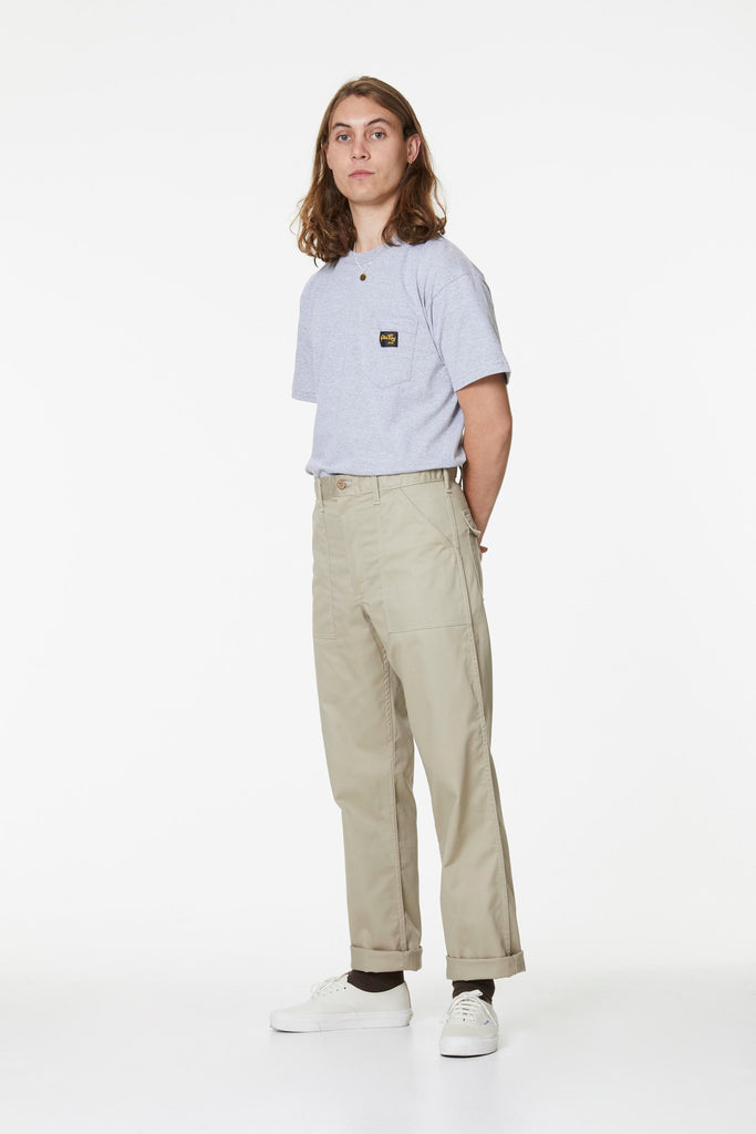 OG Fit Fatigue Loose Fit Pant - Khaki Twill