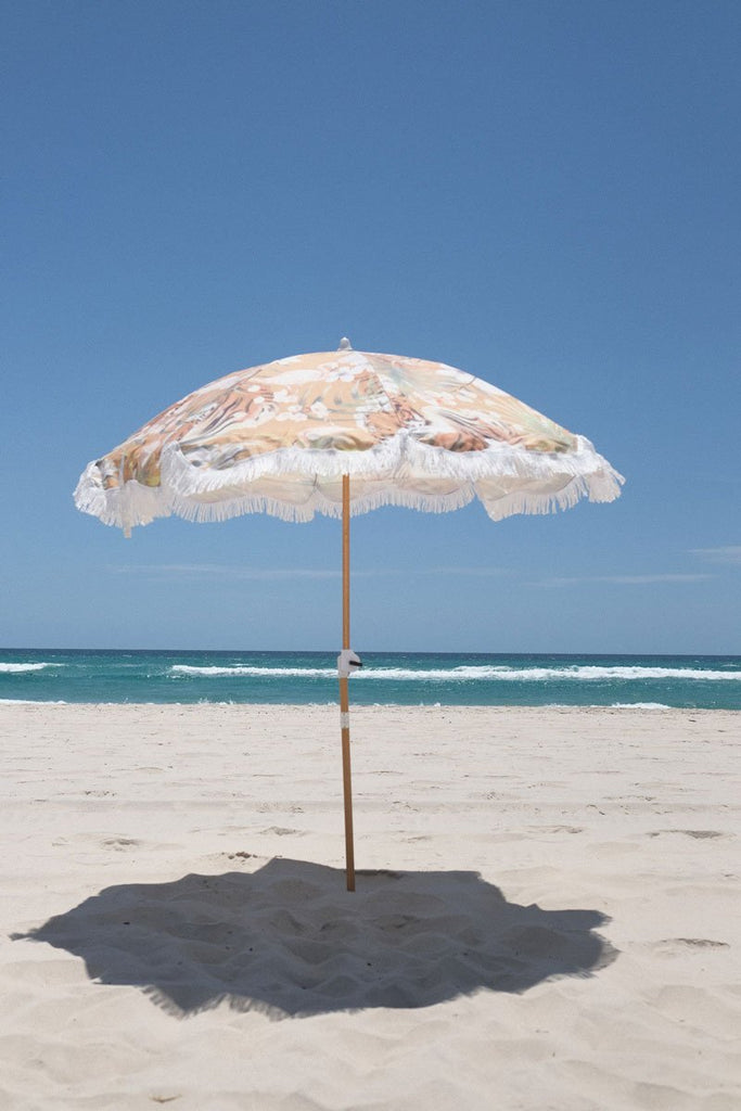 Holiday Beach Umbrella - Tropical Tiger