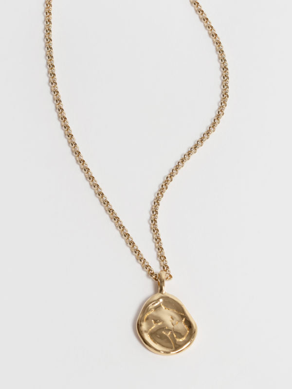 Woman Necklace - Gold