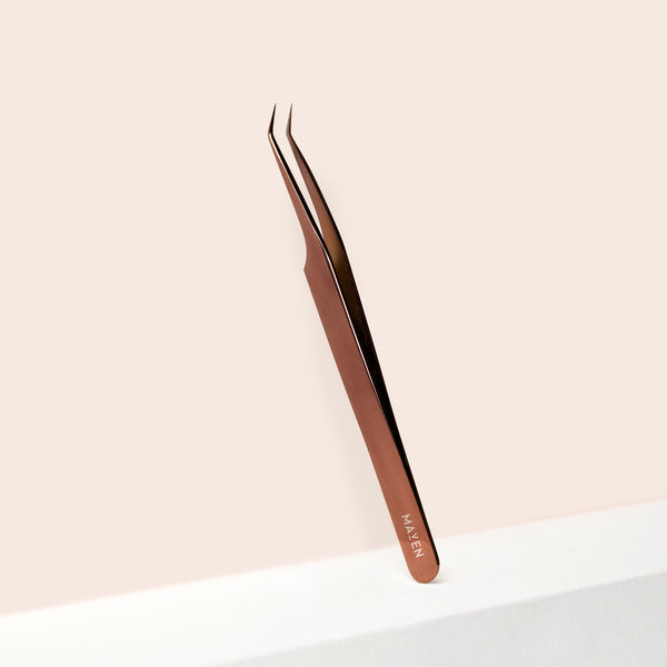 Bronze - Curved Precision Tweezer