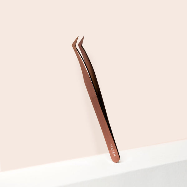 Bronze - Volume L Curve Tweezer
