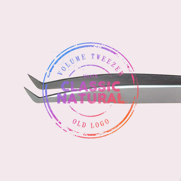 Natural Volume - Satin Boot Tweezer (Old Logo)