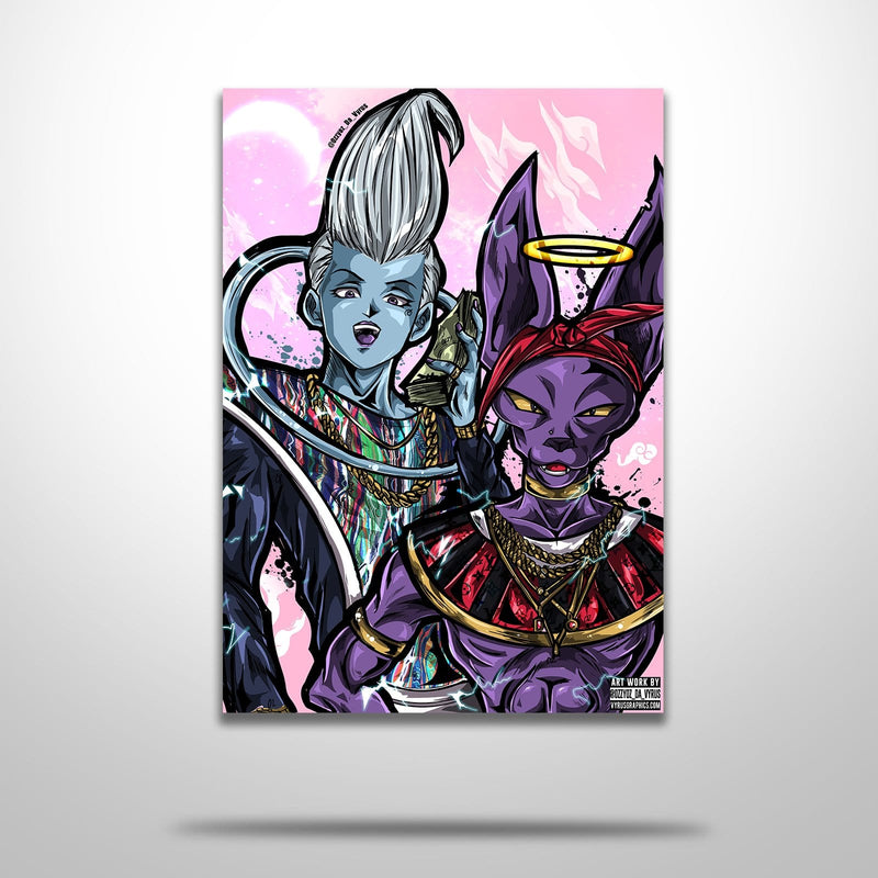 Beerus & Whis Poster