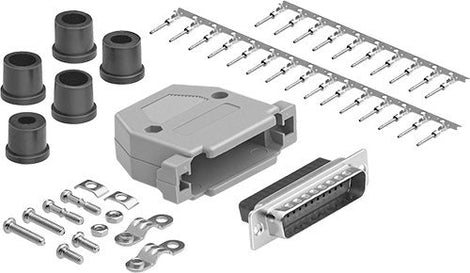 DB25 Male Connector Kit Set