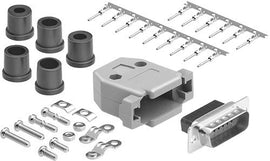 DB15 Male Connector Kit Set