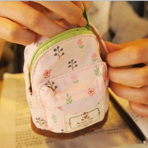Mini Flower Pencil Bag