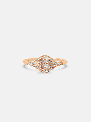 The Kyoto Signet Pinky Ring