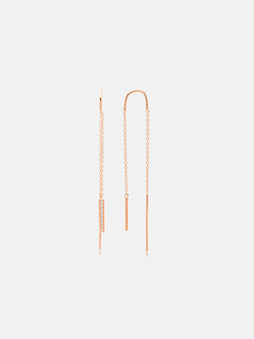 The Shanghai Threader Earrings
