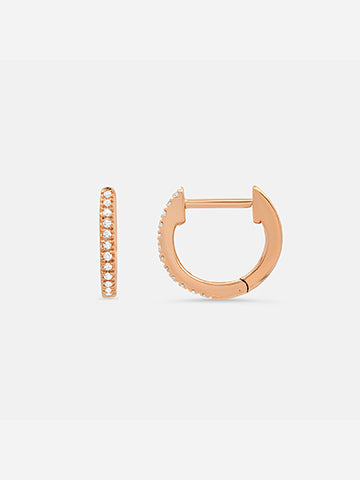The Zurich Huggie Earrings