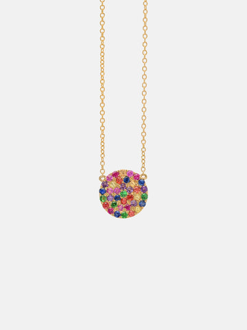 The Ibiza Rainbow Necklace