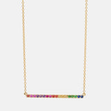 The Amalfi Rainbow Necklace
