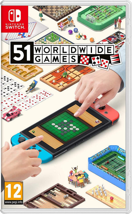 NINTENDO SWITCH 51 WORLDWIDE GAMES