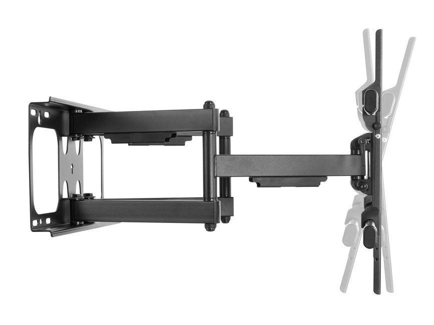 "TV WALL MOUNT EQUIP: DOUBLE ARM SUPPORT FOR 37 ""- 90"" - netgear-gi"