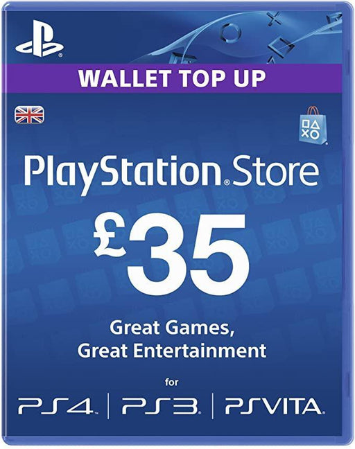 Playstation Network Card £35 (PS3 / VITA / PS4) /PS3