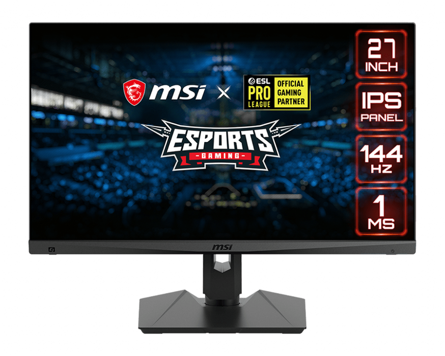 "MSI OPTIX 27"" MAG274R GAMING MONITOR 144HZ - netgear-gi"