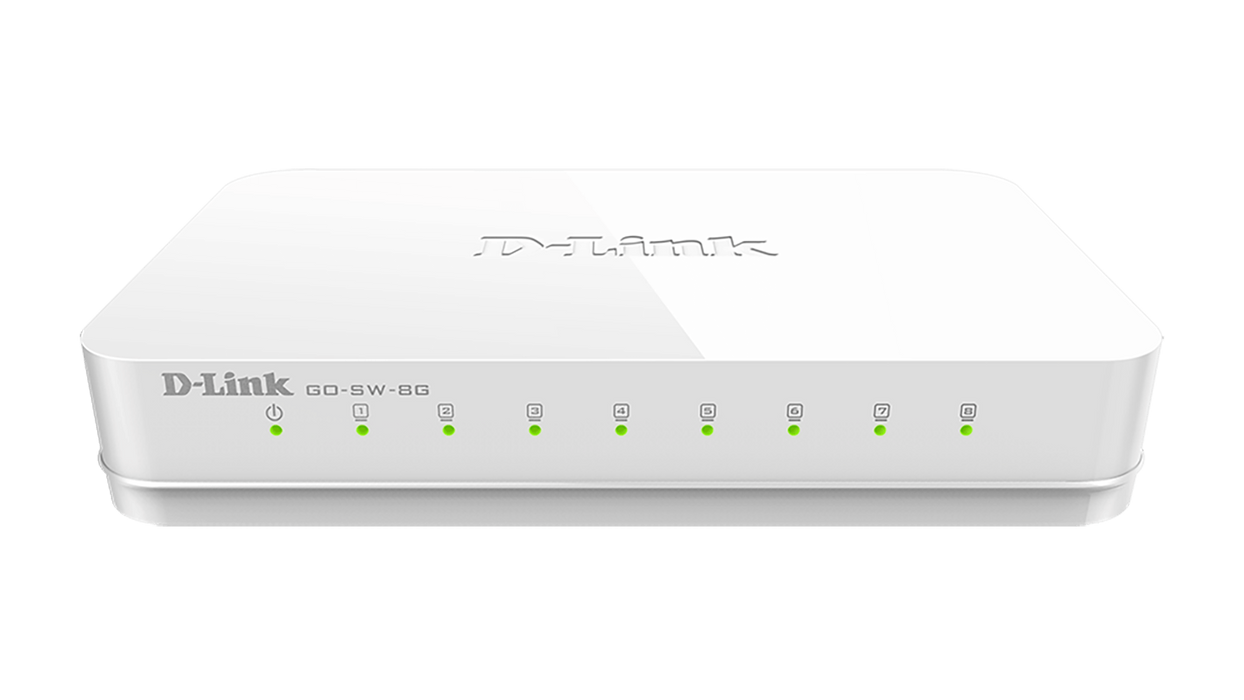 D-Link GO-SW-8G 8 Ports Ethernet Switch