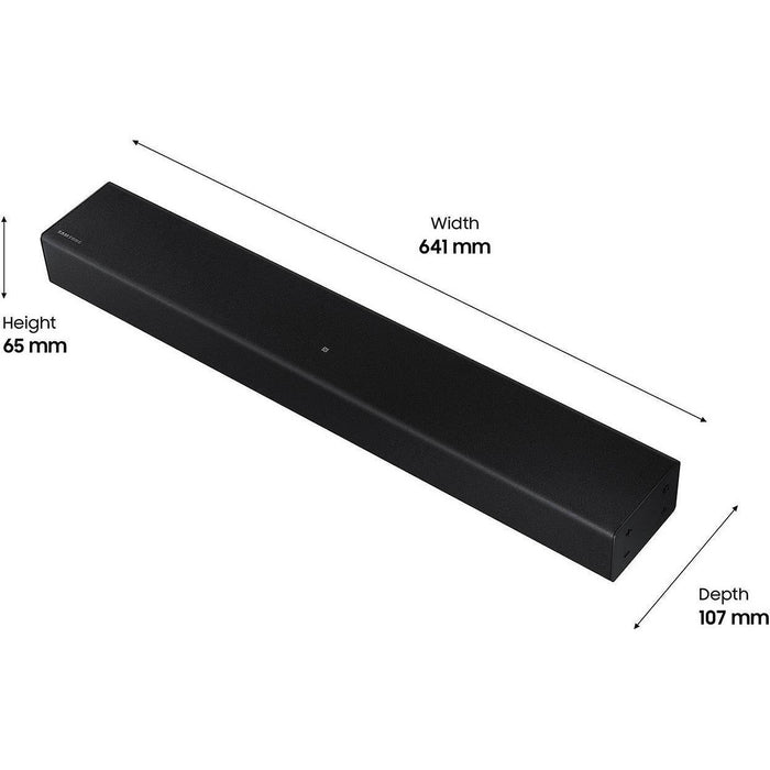 2020 SAMSUNG ALL IN ONE SOUNDBAR HW-T400.  2.0 Ch  40W  BLUETOOTH