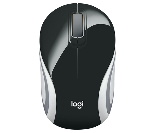 LOGITECH WIRELESS M187 MINIMOUSE BLACK