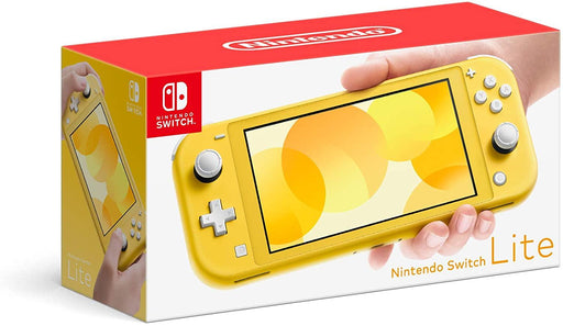 NINTENDO SWITCH LITE YELLOW - netgear-gi