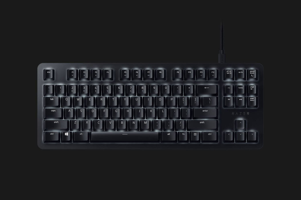 Razer Blackwidow lite orange compact keyboard