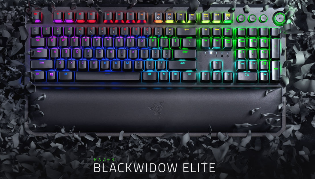 RAZER BLACKWIDOW ELITE KEYBOARD ORANGE