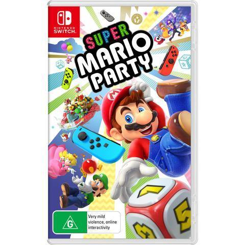 NINTENDO SWITCH SUPER MARIO PARTY - netgear-gi