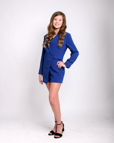 Out of the Blue Romper