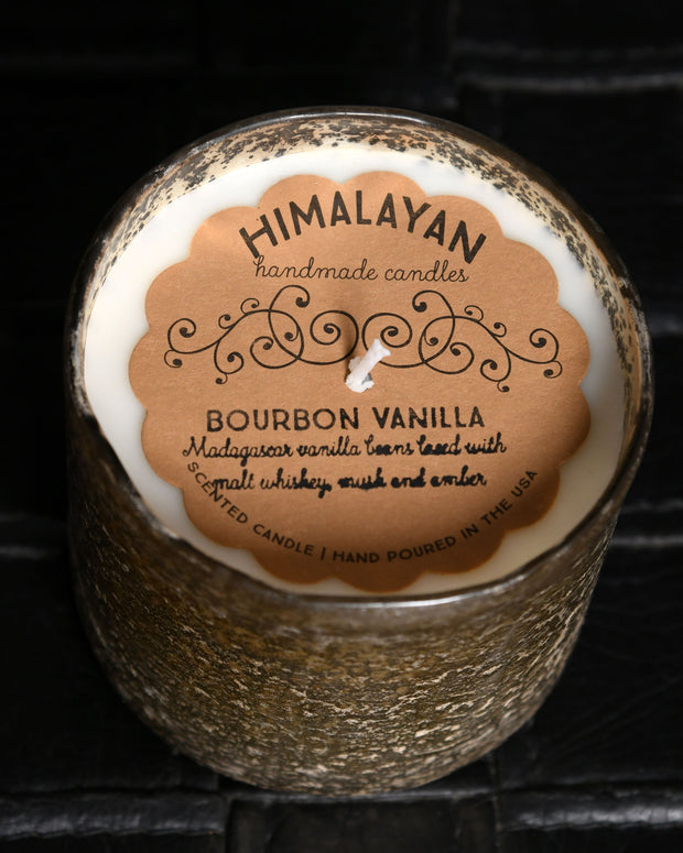 Himalayan Artisan Blown Glass Tumbler - Bourbon Vanilla