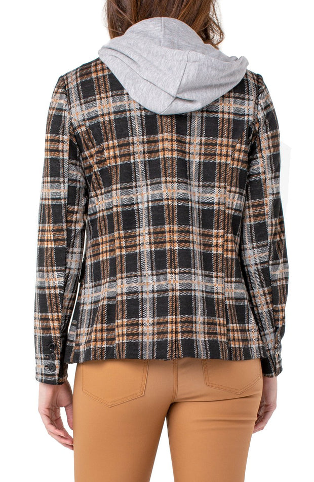 Liverpool Plaid Boyfriend Blazer