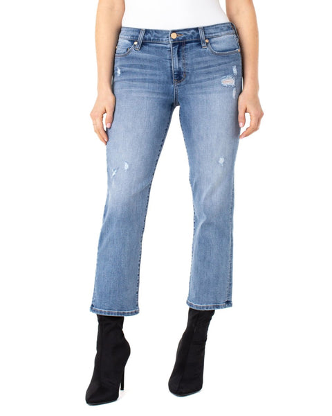 Liverpool - High Rise Cropped Denim