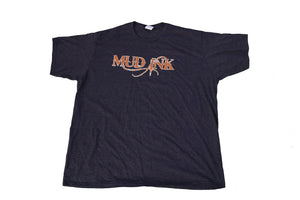 Heather Dark Grey Mud Ink Short Sleeve Big 3XL - 5XL
