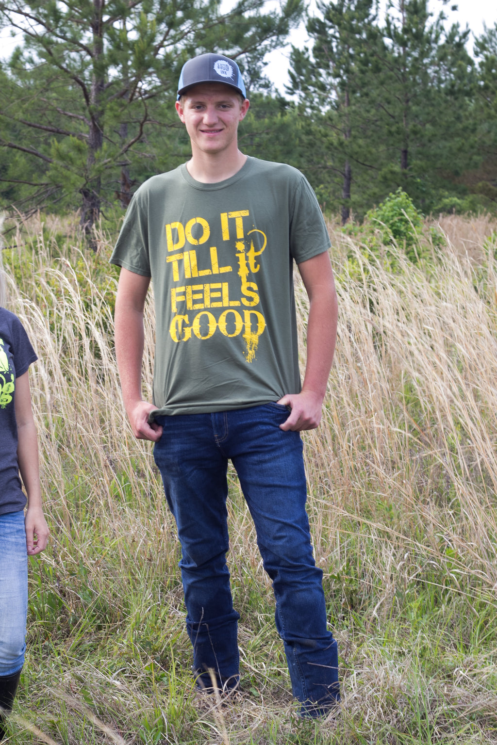 "Military Green ""Do It"" Short Sleeve"
