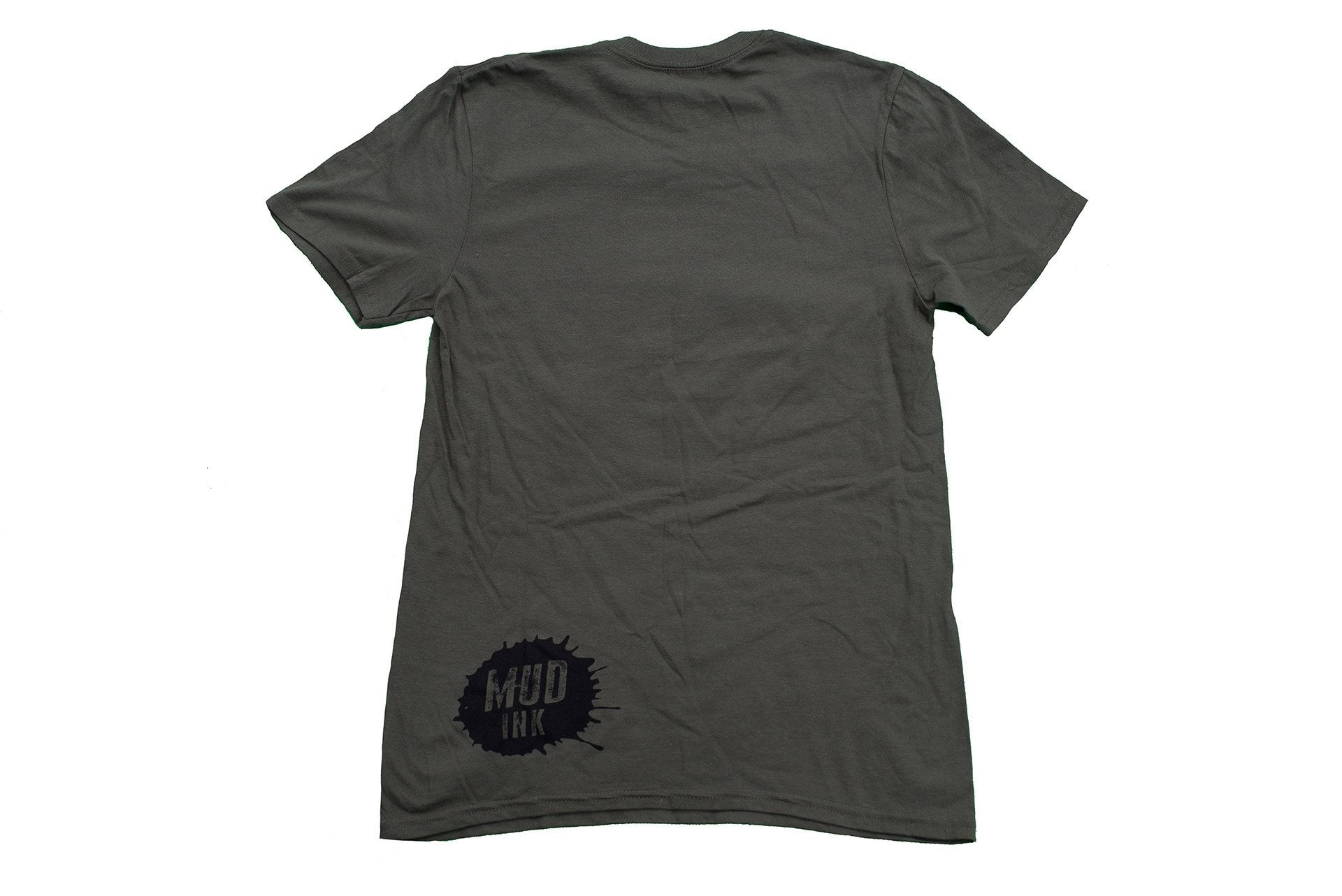 Military Green Grill Design Short Sleeve