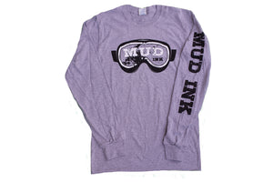 Grey Goggle Design Long Sleeve