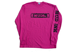 Pink Grill Design Long Sleeve