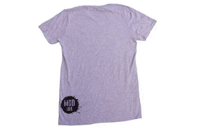 Grey Handle Bar Design Short Sleeve