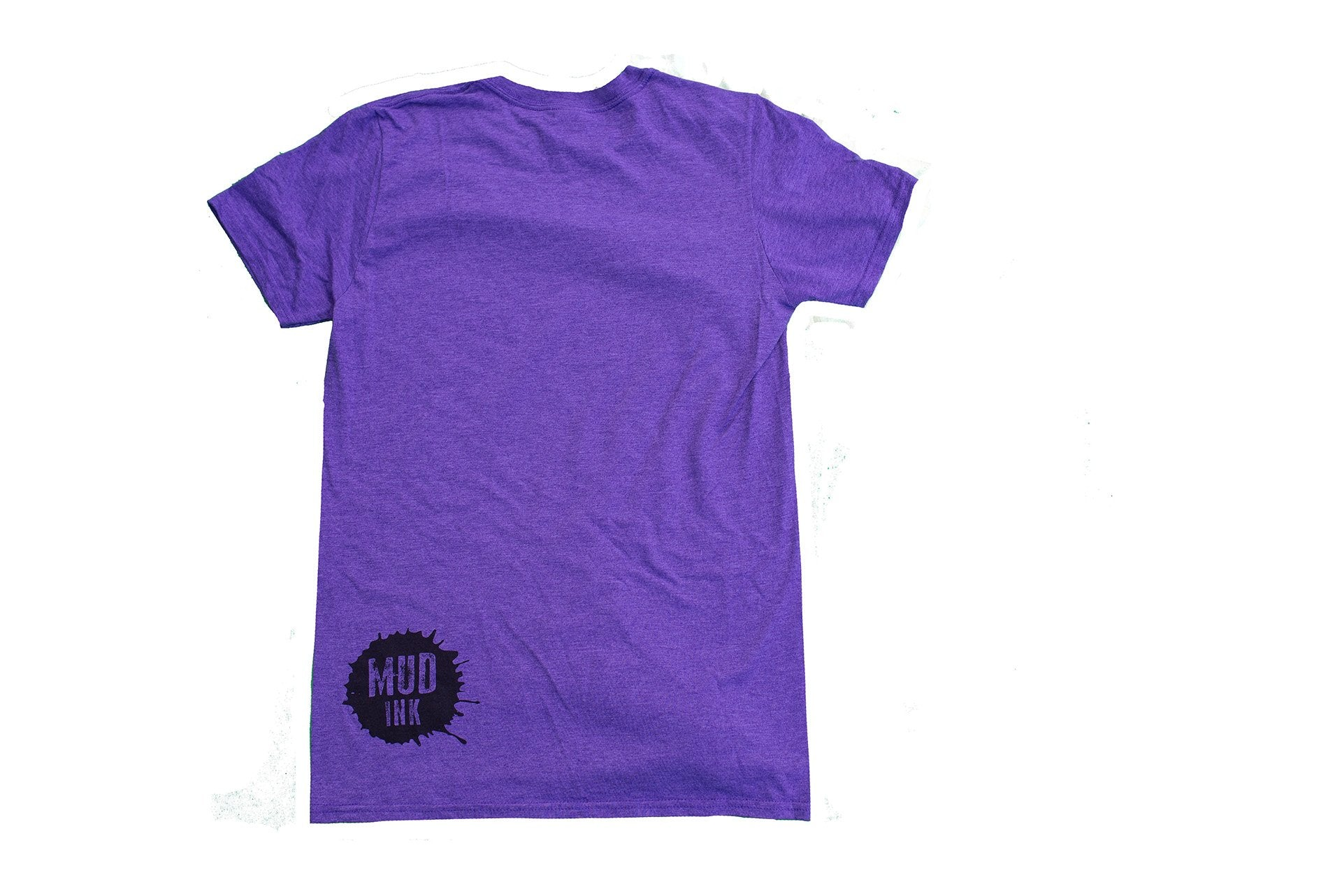 Heather Purple Goggle Design Short Sleeve