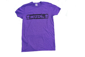 Heather Purple Grill Design Short Sleeve