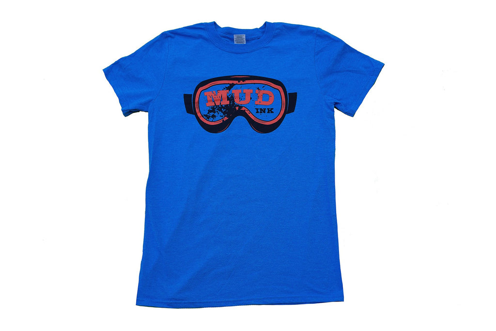 Heather Royal Goggle Design Short Sleeve