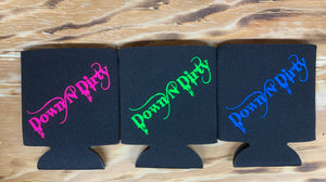 "Black ""Down N Dirty"" Koozie"